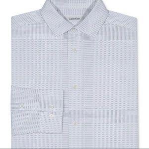 Calvin Klein white long sleeve shirt.Size 16 boy.